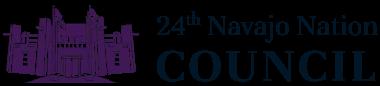 24th Navajo Nation Council logo