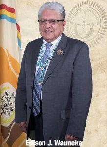 photo of Edison Wauneka